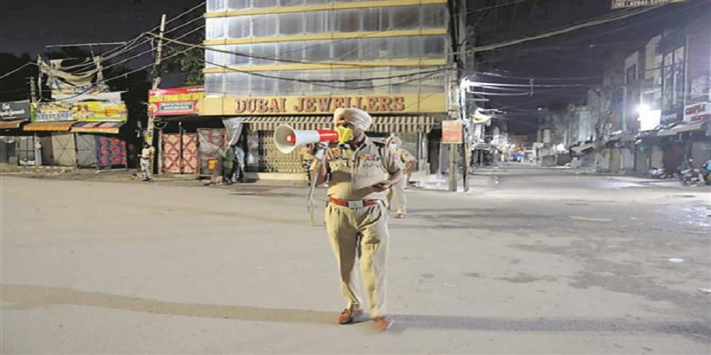 Night curfew in Punjab