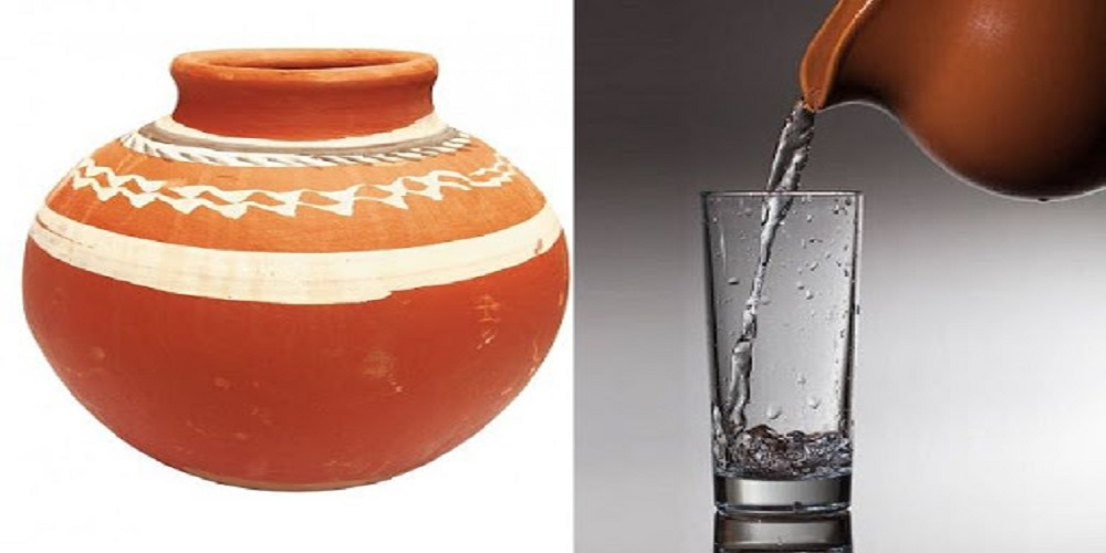 Clay Pot Water in Summer