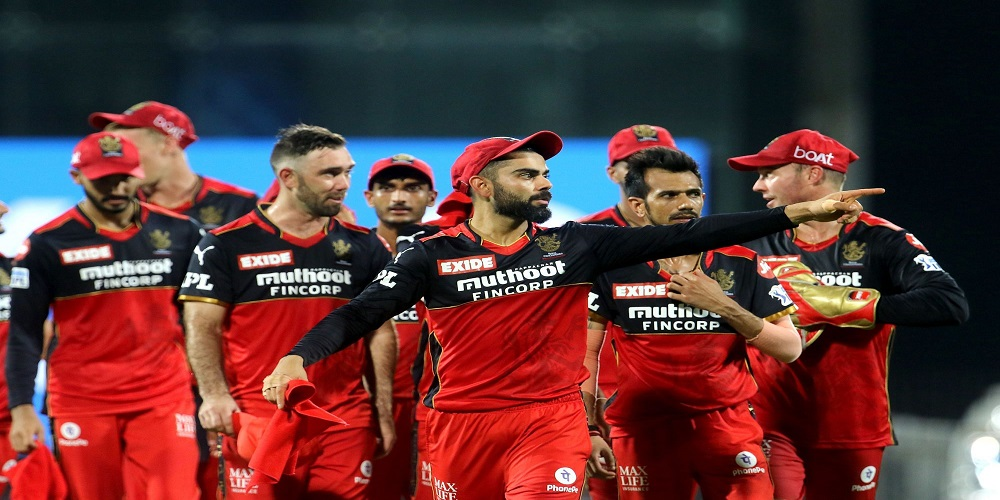 RCB out of IPL tournament